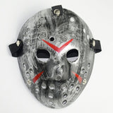 Jason Voorhees Halloween Mask Silver