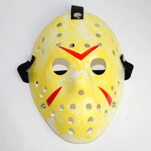 Jason Voorhees Halloween Mask Yellow