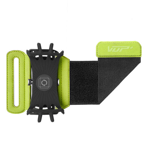 Rotatable Phone Wristband green