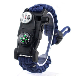Survival Bracelet Blue