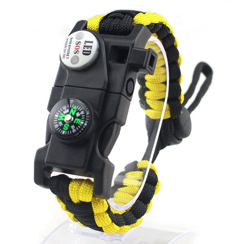 Survival Bracelet Yellow