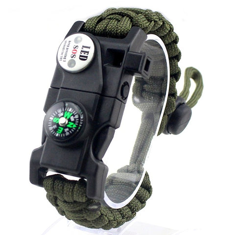 Image of Survival Bracelet olive