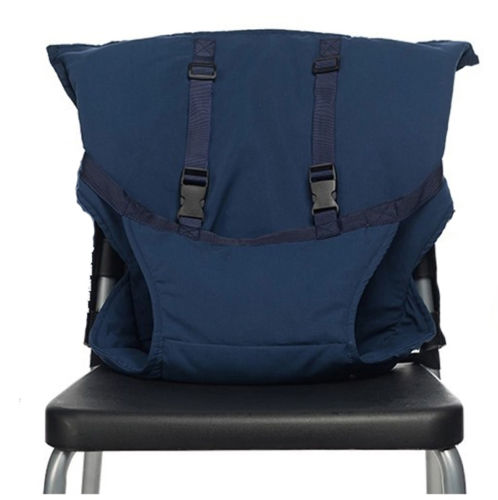 Portable Baby Chair Safety Harness MidnightBlue