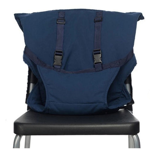 Image of Portable Baby Chair Safety Harness MidnightBlue