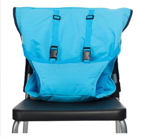 Image of Portable Baby Chair Safety Harness DeepSkyBlue