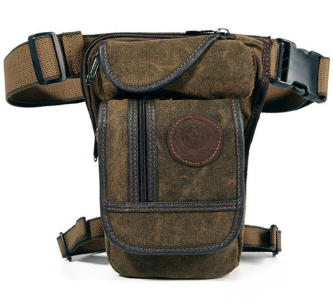 Image of Drop Leg Travel Bag SaddleBrown