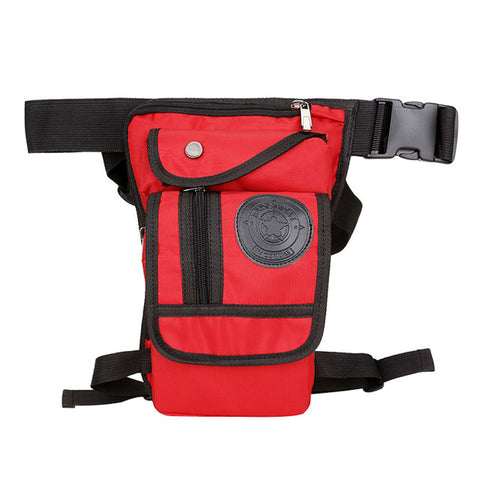 Image of Drop Leg Travel Bag Red