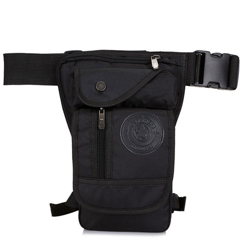 Drop Leg Travel Bag Black