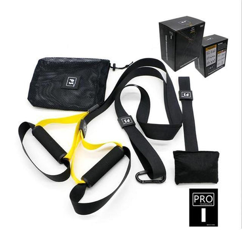 Strength Training Suspension Straps Yellow