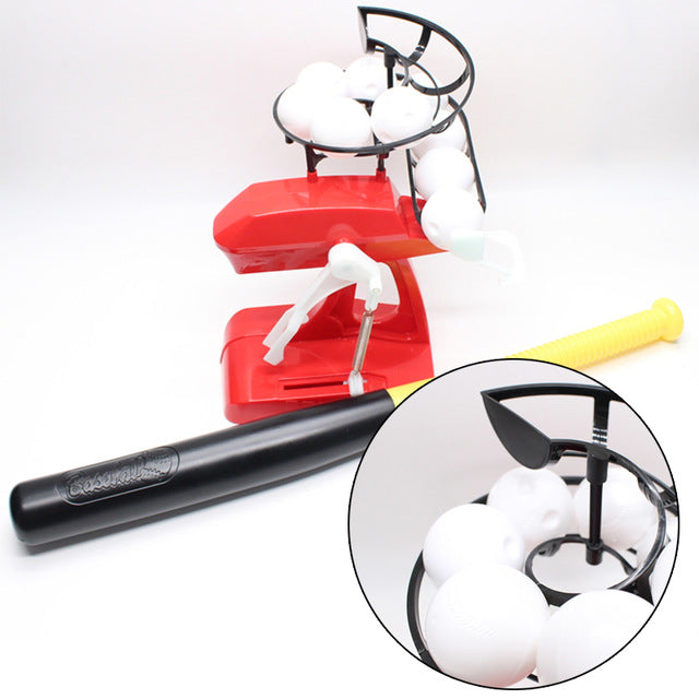 Baseball Pitching Toy Red