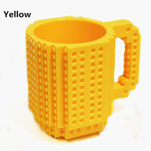 Image of Lego Mug yellow