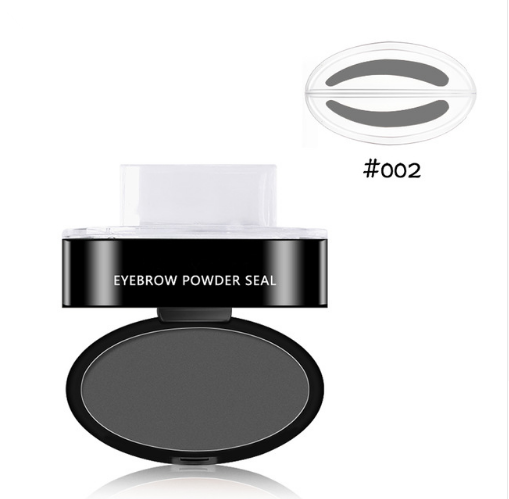 Easy Eyebrow Stamp Gray / Round