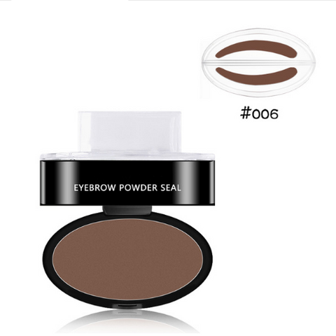 Image of Easy Eyebrow Stamp Sienna / Round