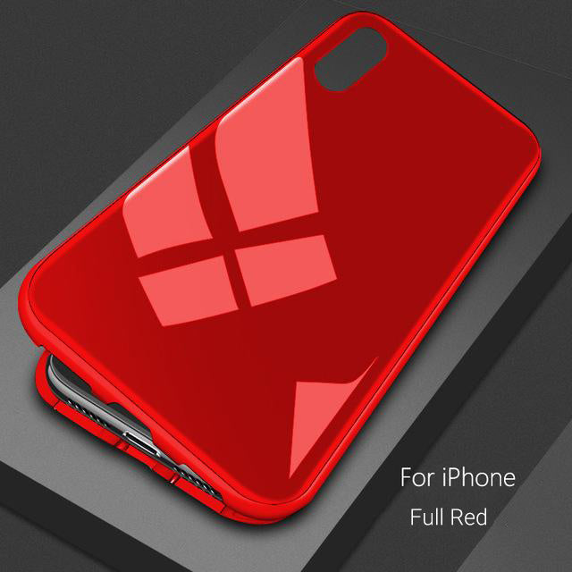 Magnetic iPhone Case Full Red / For iPhone 6 6s