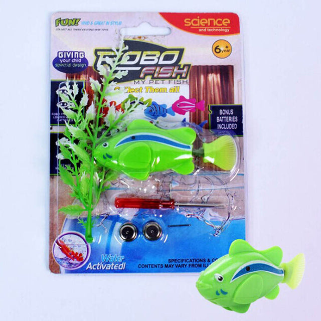 Electronic Robofish GREEN