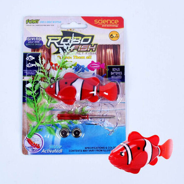 Electronic Robofish RED