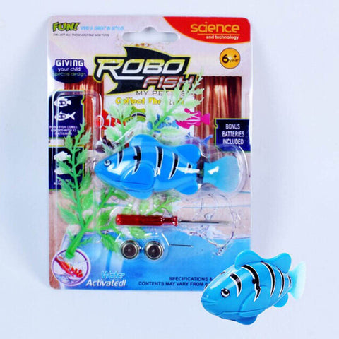 Image of Electronic Robofish BLUE