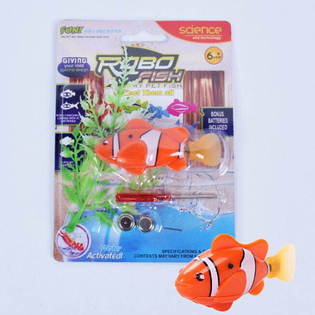 Electronic Robofish ORANGE