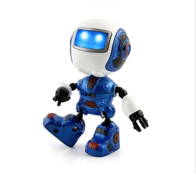 Dancing Robot Toy Blue