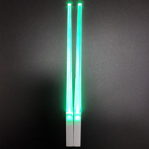 Glowing Chopstick 2pcs Green