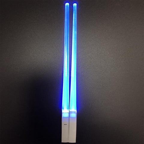 Glowing Chopstick 2pcs Blue