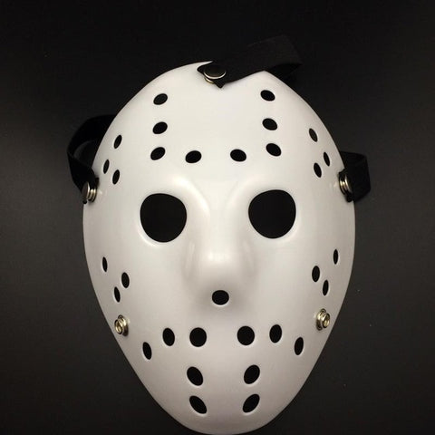 Jason Voorhees Halloween Mask Full White