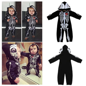 Cute Skeleton Baby Halloween Costume