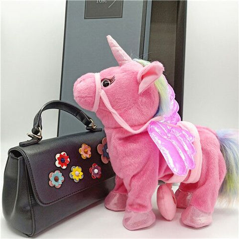 Magical Unicorn Toy rose-gold