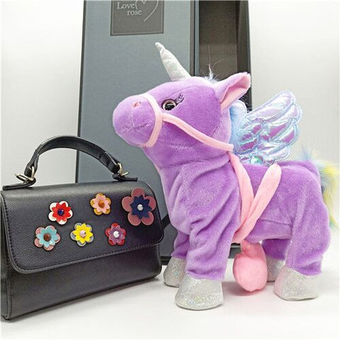 Magical Unicorn Toy Purple