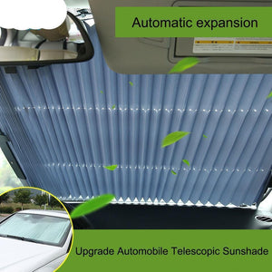 Retractable Car Sun Shade