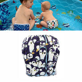 Waterproof Swimming Baby Diaper diaper-1 / One Size Adjustable