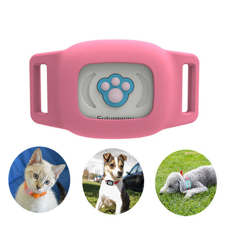 Image of Smart GPS Cat Collar Pink