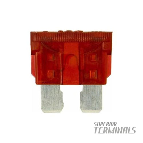 100pcs Blade Fuse 10 Amp - Blade Fuse 10 Amp - Fuses