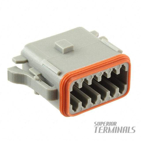 CONNECTOR PLUG 12 WAY-A - Amphenol