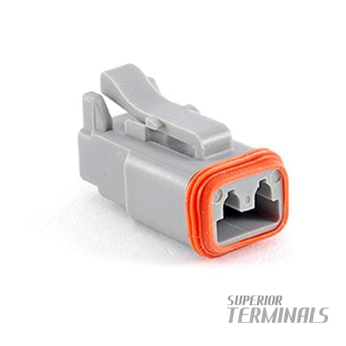 CONNECTOR PLUG 2 WAY - Amphenol