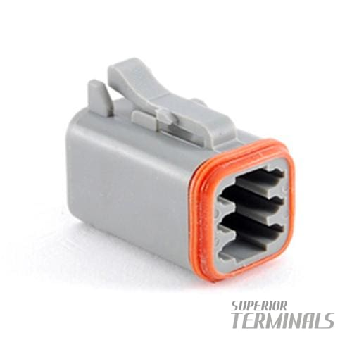 CONNECTOR PLUG 6 WAY - Amphenol