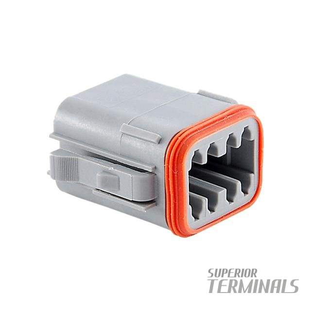 CONNECTOR PLUG 8 WAY-A - Amphenol