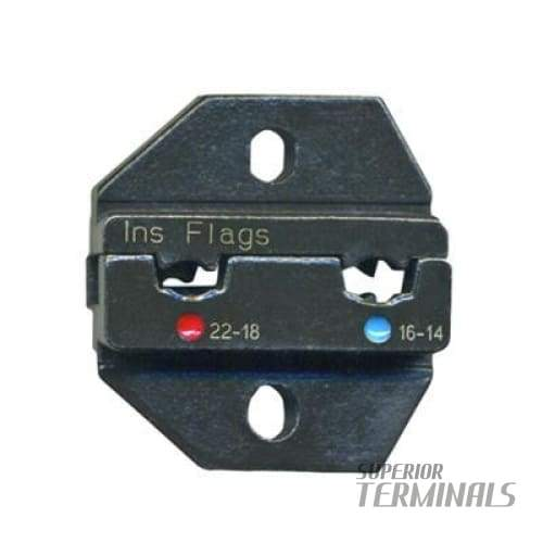 Crimp Die for T-R-50 (Insul. Flag Terminals 0.34-2.5mm (22-14 AWG)) - Tools