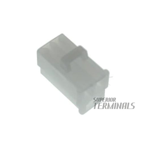 Female 3 Pin QK Type Connector Plug Housing - Female 3 Pin QK Type Connector Plug Housing - QK Connectors