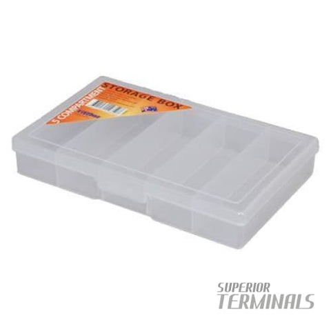 Fischer 5 Compartment Storage case - STORAGE