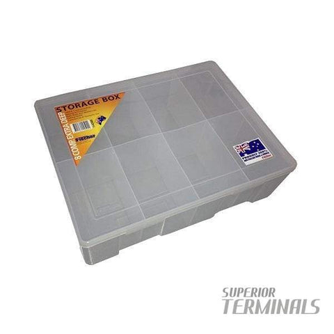 Fischer 8 Compartment Storage case - STORAGE