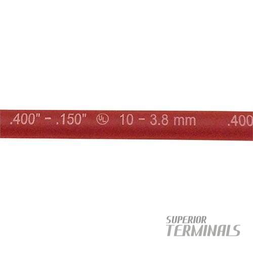 HST - Flex Dual-Wall 3/8 ID Red 6 L - Flexible Adhesive Heat Shrink