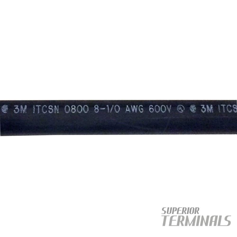 HST - Heavy-Wall w/Adh - 20.32mm ID (0.80) Black 305mm L (12) - Heavy Wall Adhesv. Heat Shrink