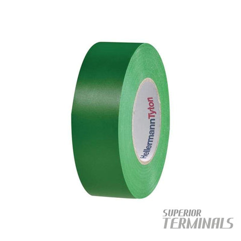 Insulation Tape Green 0.15mm x 18mm 20M -10C to 90C