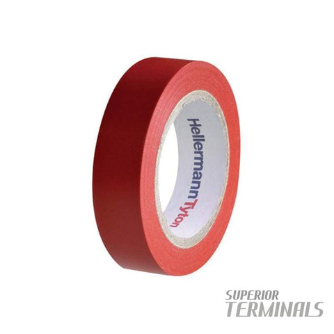 Insulation Tape Red 0.15mm x 18mm 20M -10C to 90C
