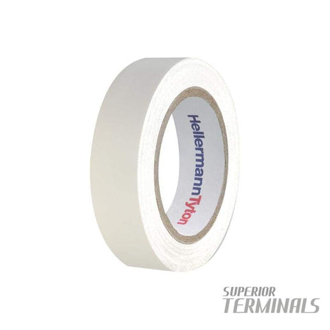 Insulation Tape White 0.15mm x 19mm x 20M -10C to 90C - Tape