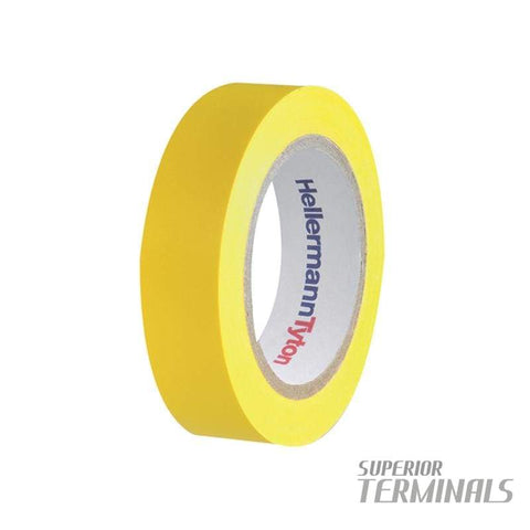 Insulation Tape Yellow 0.15mm x 19mm x 20M -10C to 90C - Tape