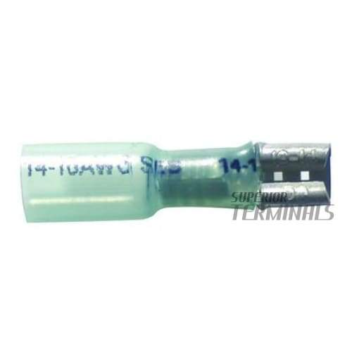 Krimpa-Seal Coupler - 1.5-2.5mm2 (16-14 AWG) Female For 2.79mm (.110) Tab