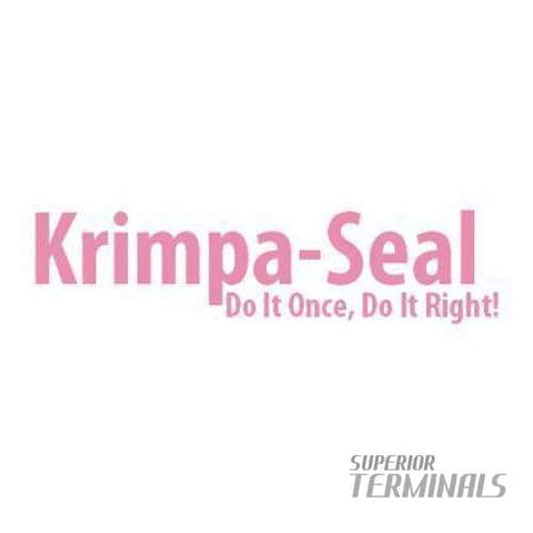 Krimpa-Seal Fully Ins Cplr -500 12-10 AWG Female For .250 Tab - Krimpa-Seal