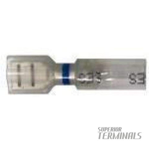 Opti-Seal Fully-Insulated Female - 16-14 AWG .250 Banded Blue - Opti-Seal